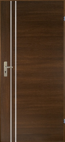 Dveře interiérové Alu 4